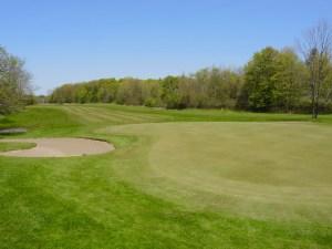 16th hole, Garrison Golf & Curling Club