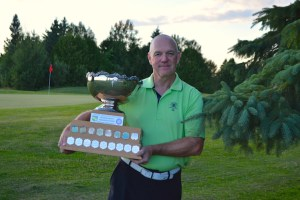 Rookie senior Larry Morin wins the OVGA Senior Men's Championship (Photo: Joe McLean)