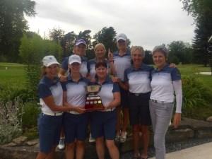 The winning 2016 Brockville Women's Intersectionals team. (Photo: Derek MacDonald)
