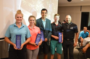 Kevin Haime Jr Masters 2016 Champions Dylann Armstrong, Bella Landry, Nick Brisebois, Zac Wylie with Kevin Haime