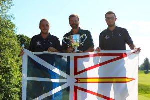 Team Newfoundland & Labrador win the 2016 Willingdon Cup (Photo: Herb Fung/Golf Canada)