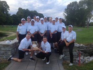 The Winning OVGA Senior Men's Intersectional team from Rivermead GC. (Photo: Joe McLean)