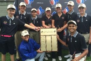 Team Ottawa (OVGA) wins the Golf Quebec Inter-Regional title for 2016 (Photo: Golf Quebec)