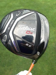 "The ""set-up"" - Titleist 917D2, 8.5 (Photo: Scott MacLeod)"
