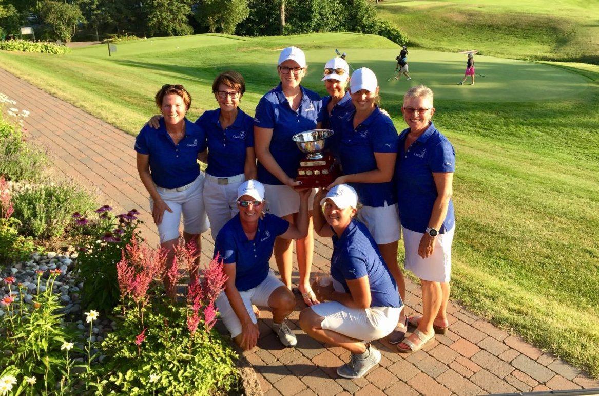 Camelot G&CC Team Wins 2018 OVGA Women's Intersectionals