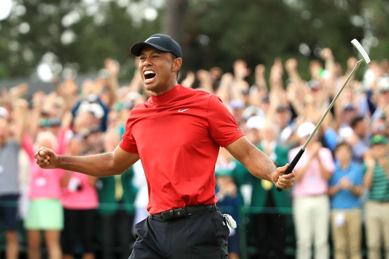 Tiger Woods Wins His 15th Major Championship At 2019 Masters Flagstick Com