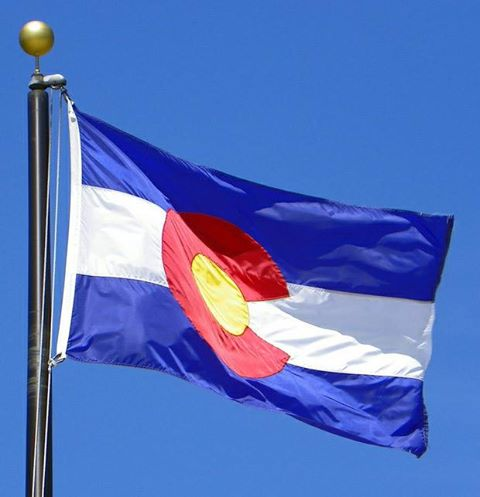 State of Colorado Flags