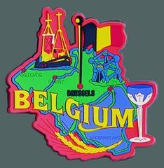 belgium-country-magnet