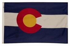 Colorado State Flag 3'x5′