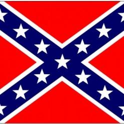 "3'x5' Poly Confederate ""Battle Flag"""