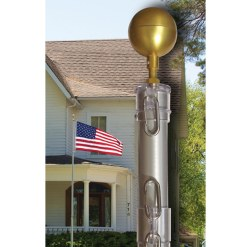 25' Aluminum Telescoping Flagpoles