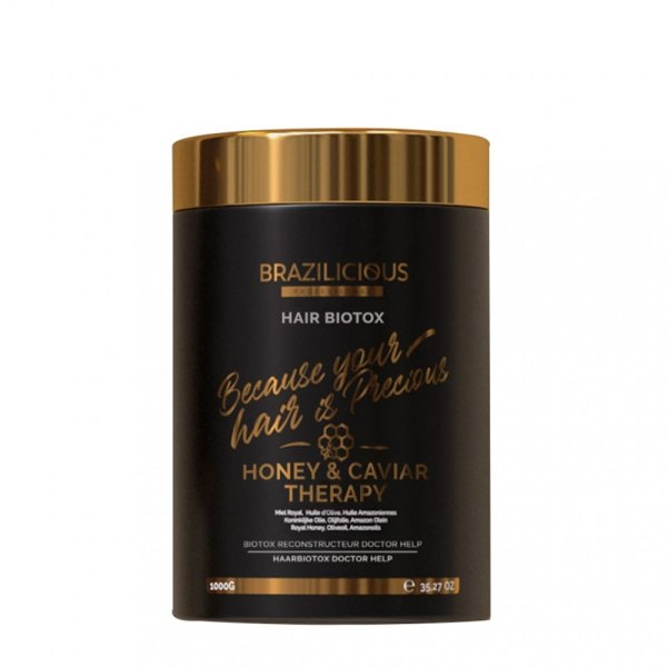 BraziliCious Hair Biotox Honey And Caviar Therapy 1KG