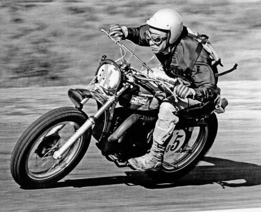 moto scrambler clasica