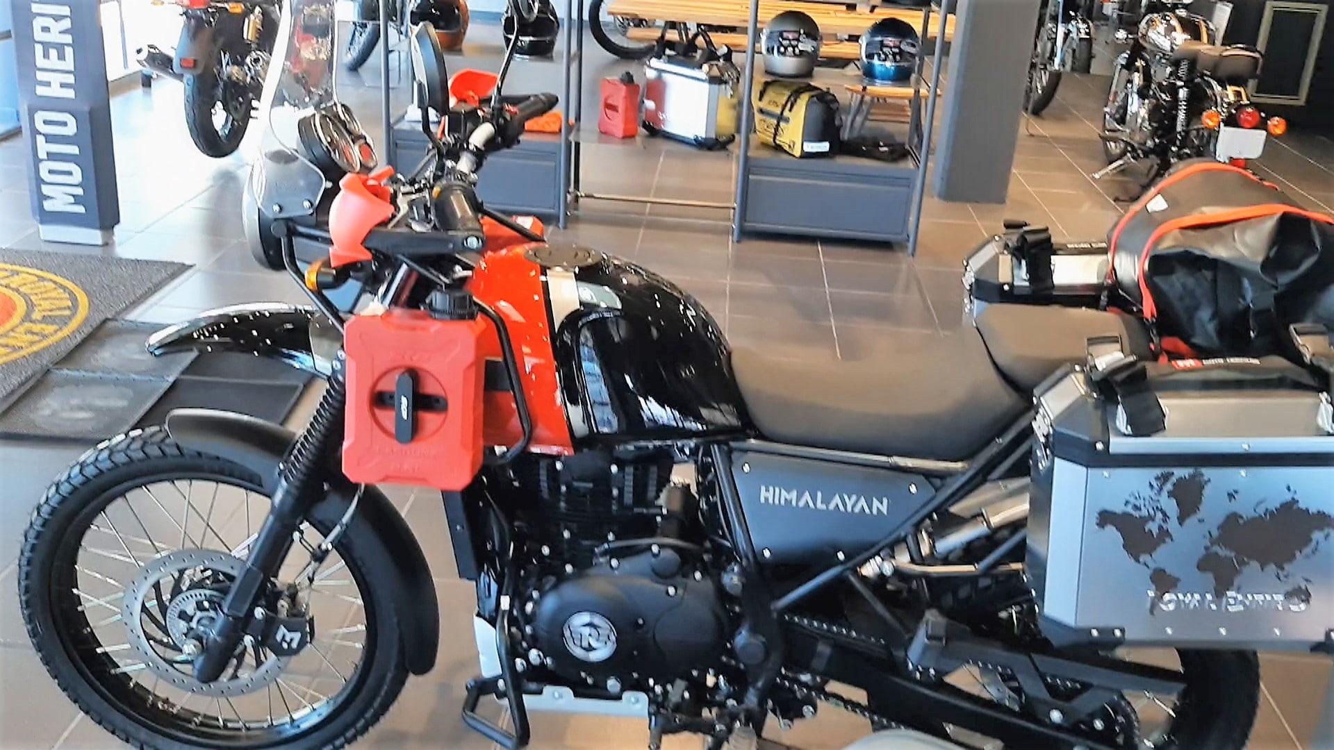 moto para viajes largos