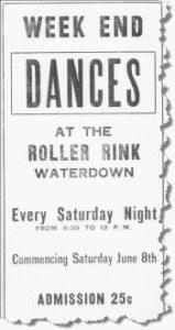 Waterdown Dance Ad