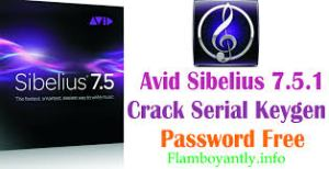 Avid Sibelius 7.5.1