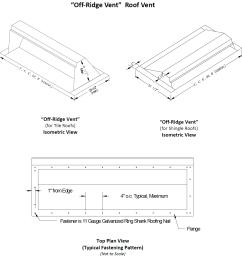 ridge vents diagram photo shingle vents photo slant vents photo soffit vents diagram photo tile roof vents under eave vents diagram photo  [ 1332 x 1400 Pixel ]