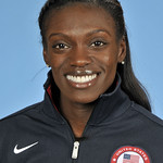 US Olympic Hurdler Dawn Harper Nelson - Team USA