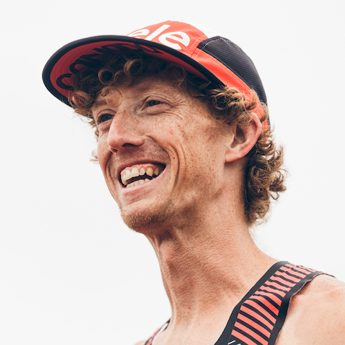 Olympic race walker Evan Dunfee headshot.