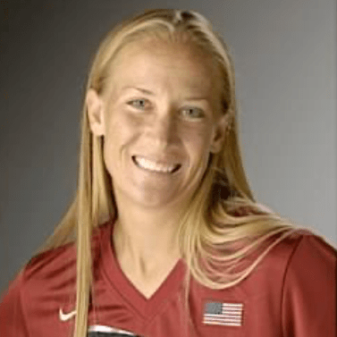 Headshot of Laura Berg, the most decorated softball Olympian. 4 Olympics, 4 medals. She now is on the coaching staff of Team USA for the Tokyo 2020 Olympics. Photo courtesy of Laura Berg.