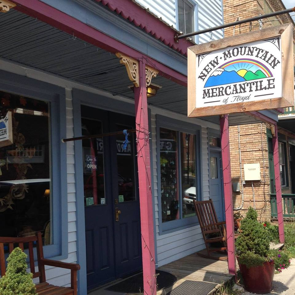 New Mountain Mercantile - clothing and jewelry in Floyd, VA