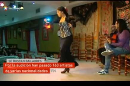 Promessas do flamenco no tablado Chinitas de Madri