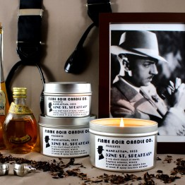 52nd St. Speakeasy - Nick Charles inspired all natural soy wax candle - Flame Noir Candle Co