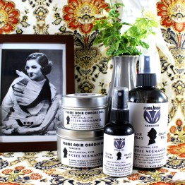 Hotel Normandie - Nora Charles inspired soy wax candle + room spray set - Flame Noir Candle Co