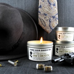 Sam's on 10th - Archie Goodwin inspired soy wax candle from Flame Noir