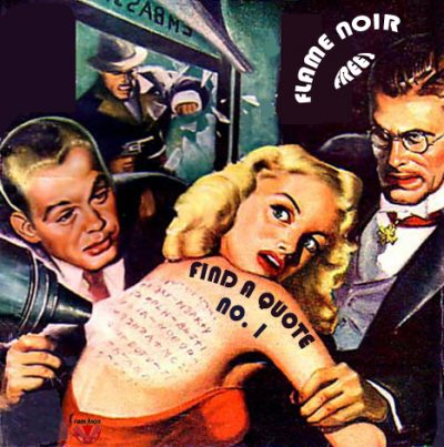 This image features artwork from pulp artist Albert Drake for FBI Detective Magazine, February, 1949
