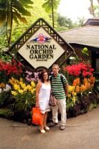 Entrada al National Orchird Garden