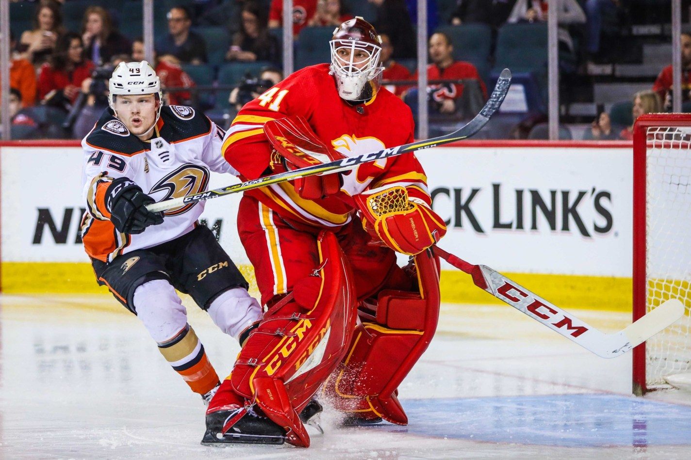 Quips And Quotes Flames Beat The Ducks 6 1 Flamesnation