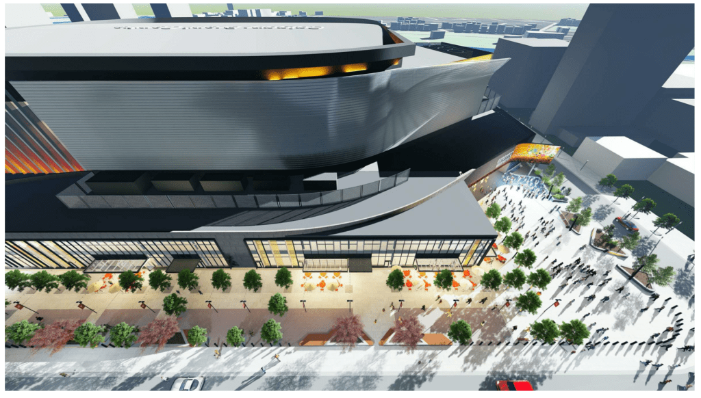 Here's the first detailed look at the new arena