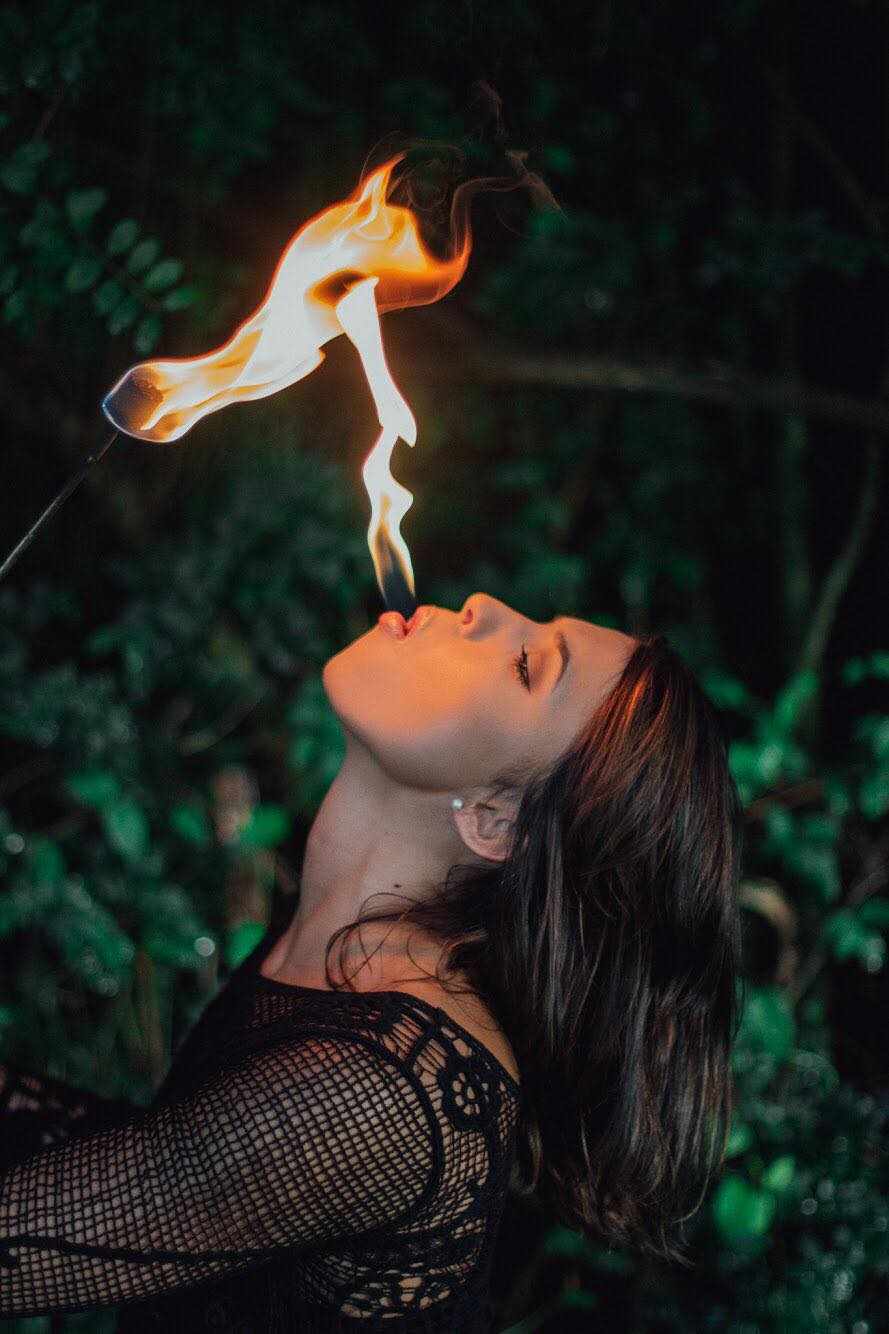 Haley Lane Knoxville Tennessee Fire Eater