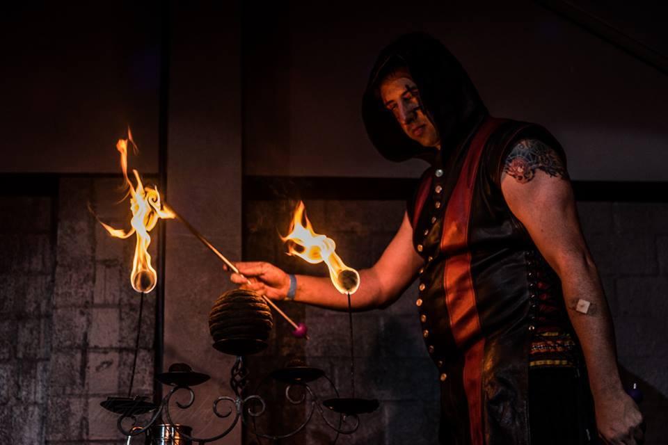 Jandro Fuego Houston Fire Eaters