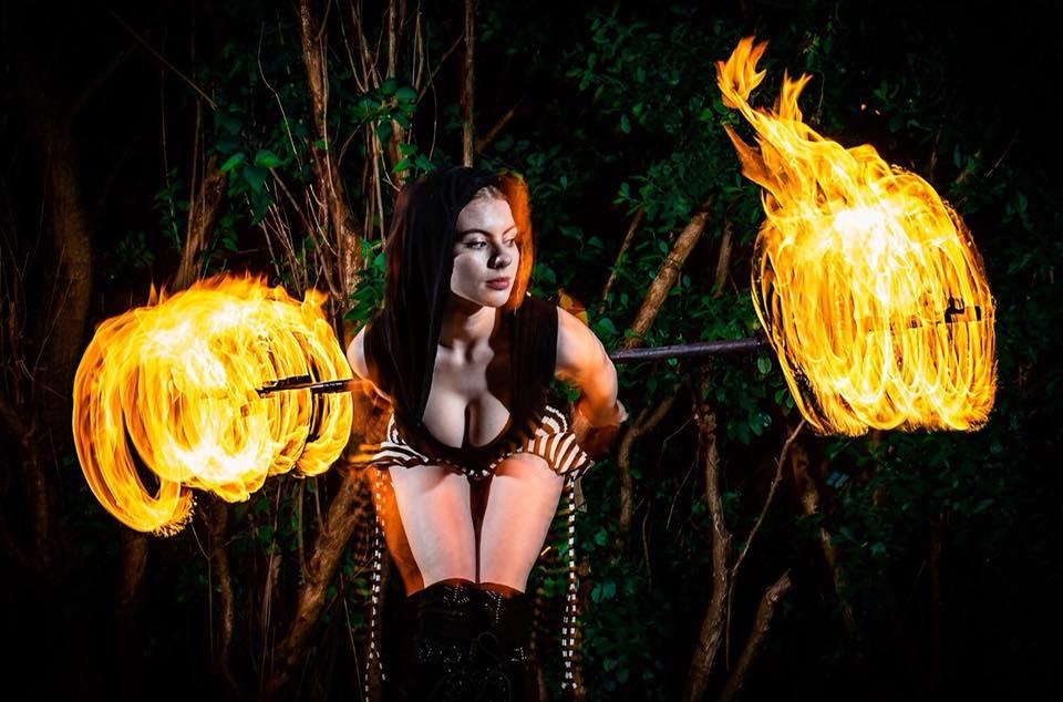 Rowyn Sage - Pennsylvania Fire Performer
