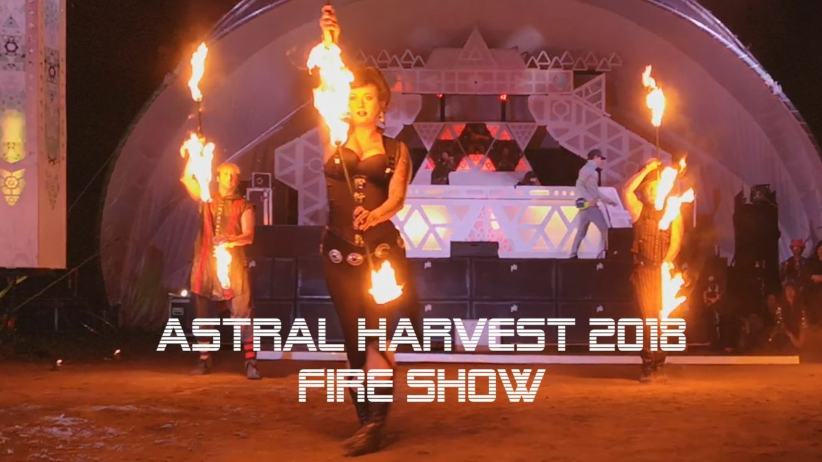 Astral Harvest Festival Fire Show Mini Azur Shade Flamewater Jandro Fuego
