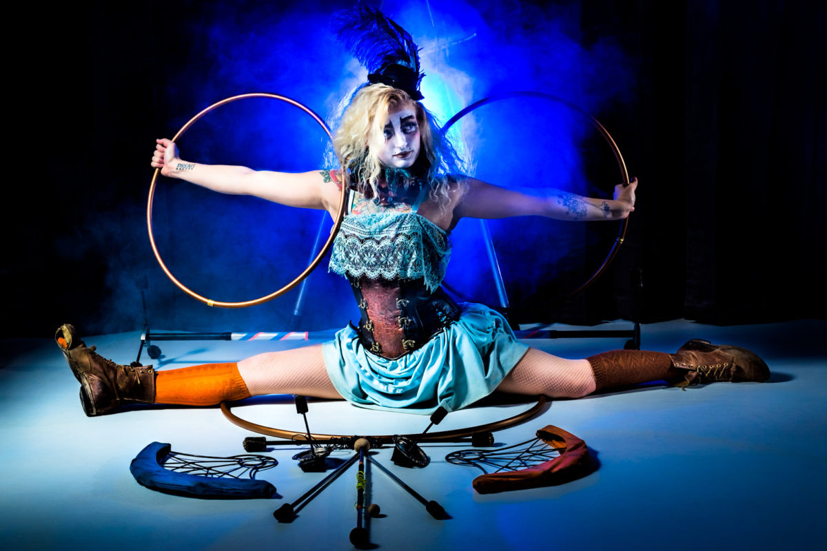 Los Angeles Circus Performer Samantha Sapphire Flamewater Circus