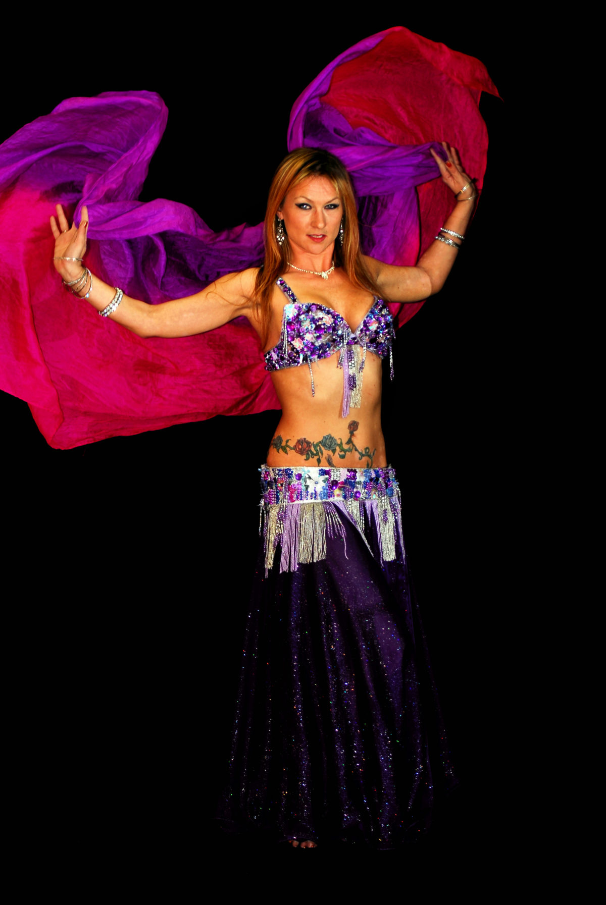 North Carolina Belly Dancer Mundi Broda Flamewater Circus