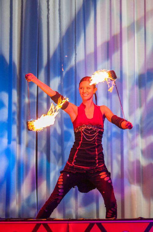 Calgary Fire Performer Sandra Safire