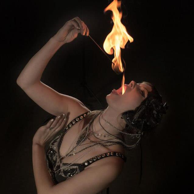 Grande Prairie Fire Eating Show Flamewater Circus