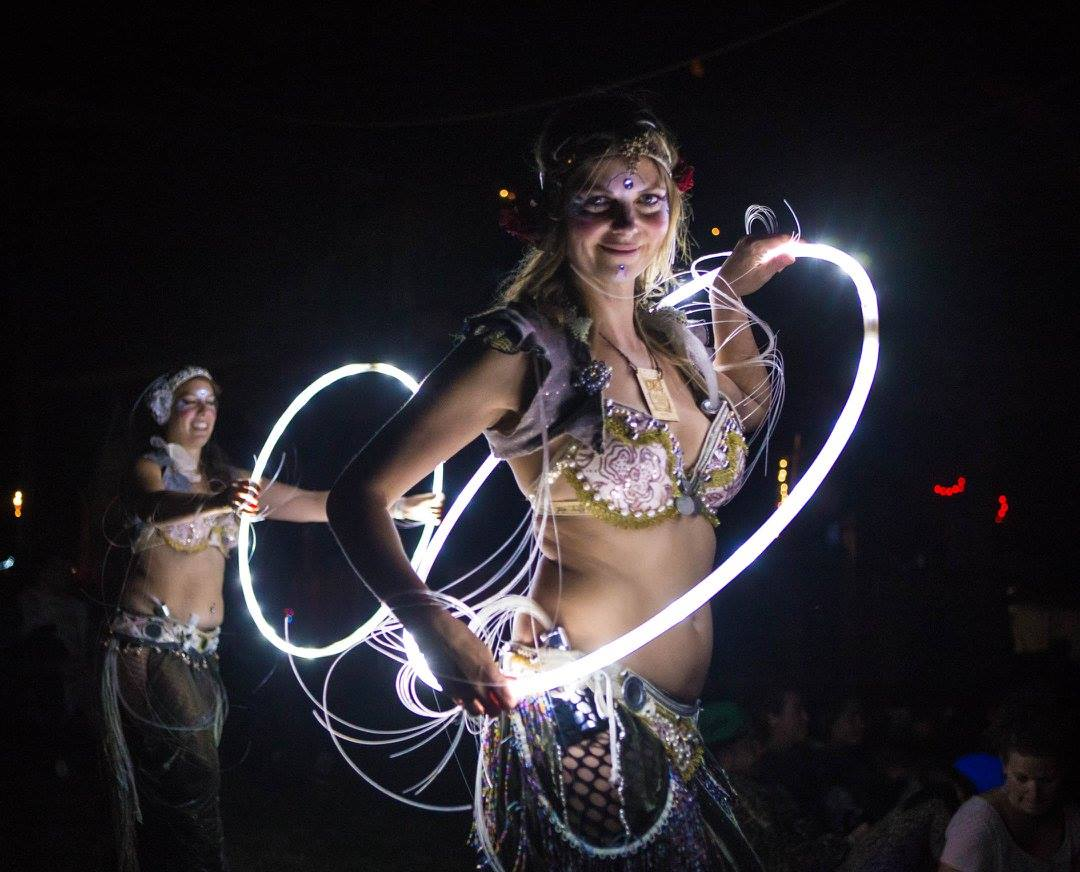 Grande Prairie LED Glow Performers Flamewater Circus