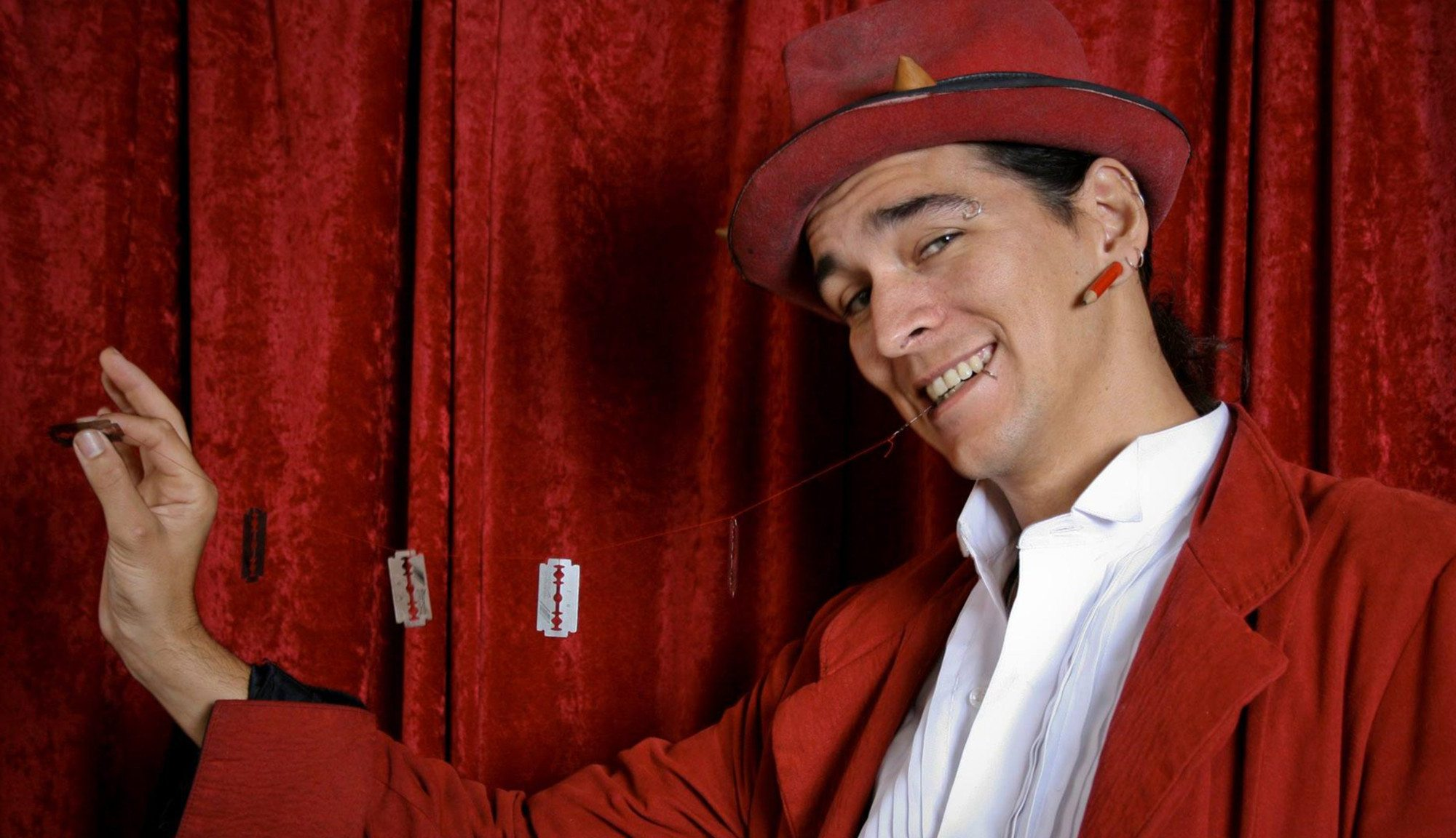 Hire a Magician Dangerboy Flamewater Circus
