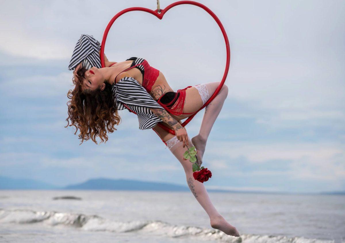 Vancouver Romantic Circus Show Kosmic Kitty Flamewater Circus