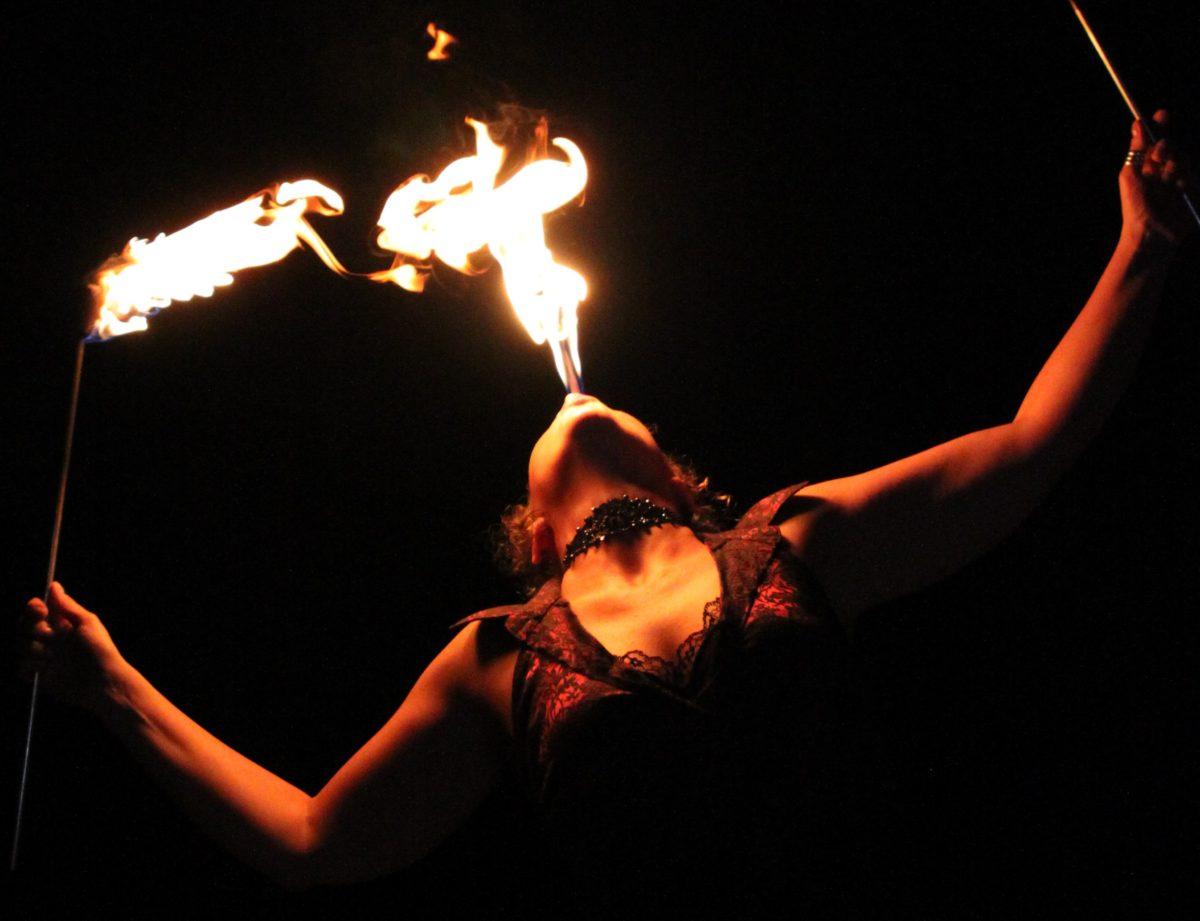 Winnipeg Fire Dancer Tara Patrice Flamewater Circus