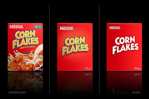 packaging de Cornflakes