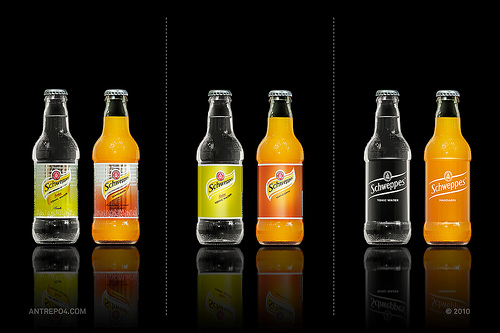 packaging Schweppes
