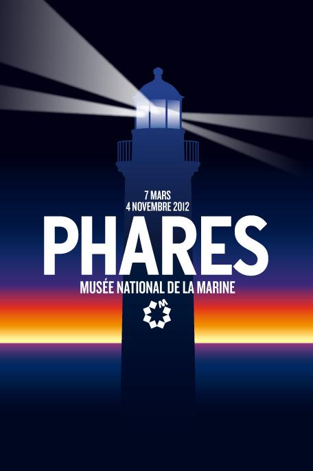 Affiche de l'expo Phares