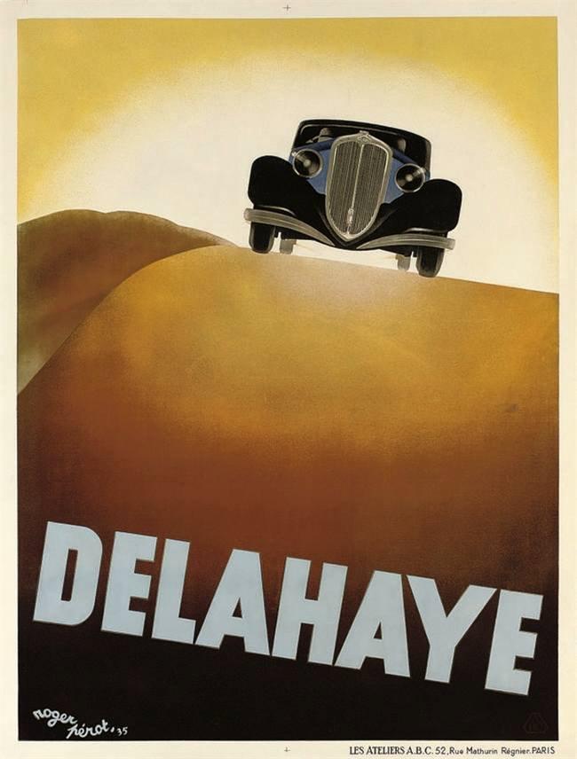 Affiche Delahaye
