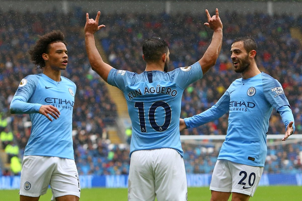 Jesus and Mahrez start, Strongest Predicted Manchester City lineup (4-3-3) to face Newport County